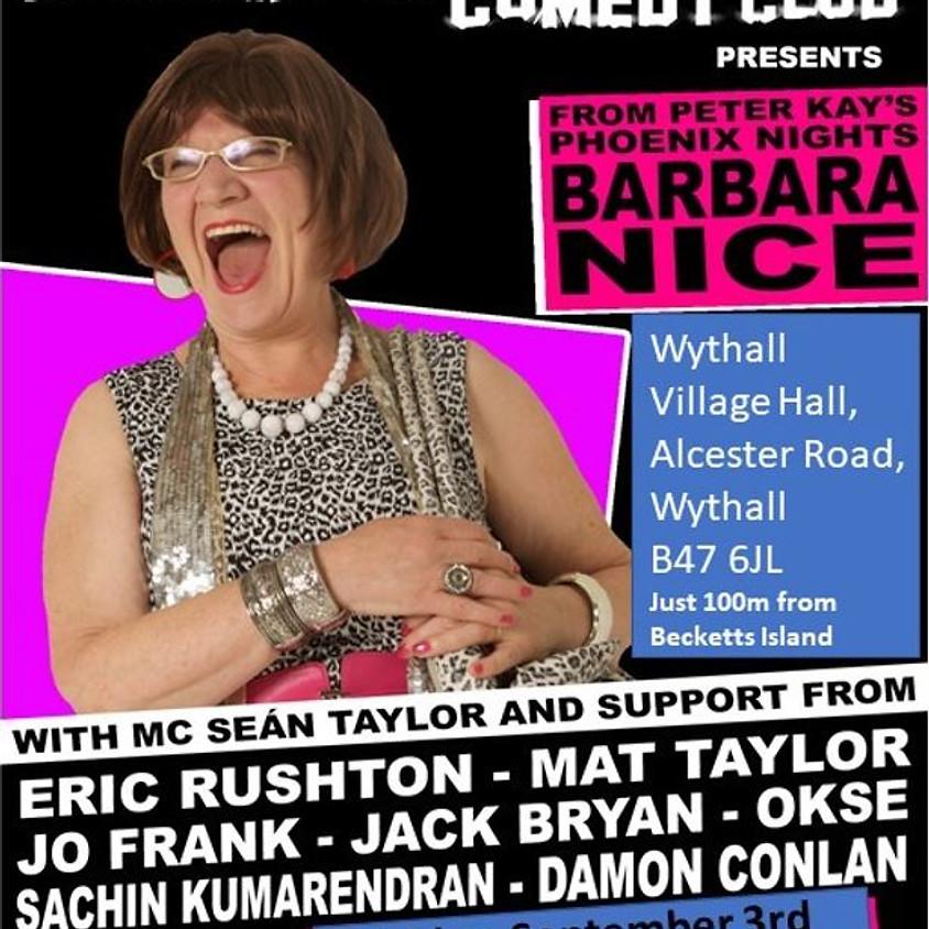 Barbara Nice Headliner Show - rearranged