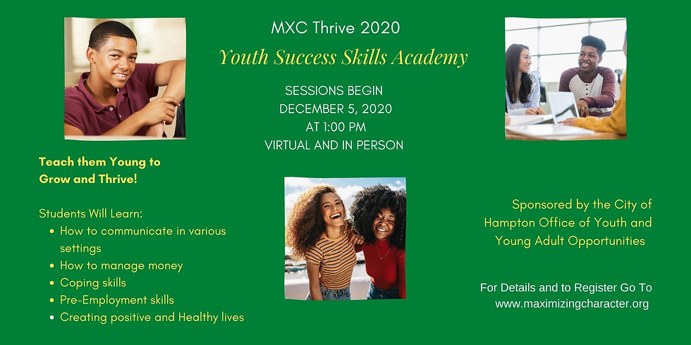 MXC Thrive Success Skills Academy