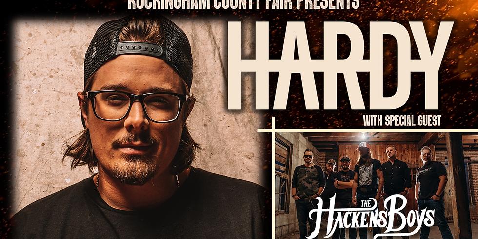 HARRISONBURG, VA - HARDY at the Rockingham County Fair w/ THE HACKENS BOYS