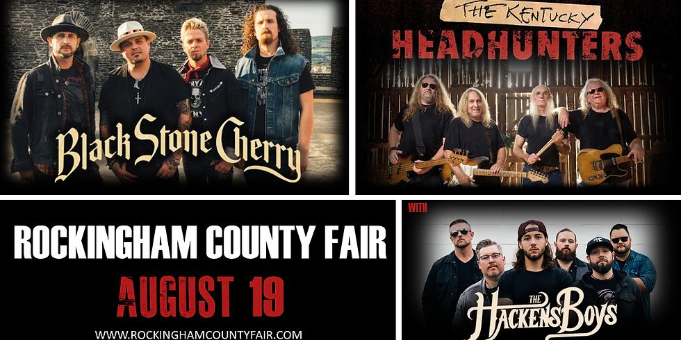 HARRISONBURG, VA - Rockingham County Fair - W/ BLACK STONE CHERRY & KENTUCKY HEADHUNTERS