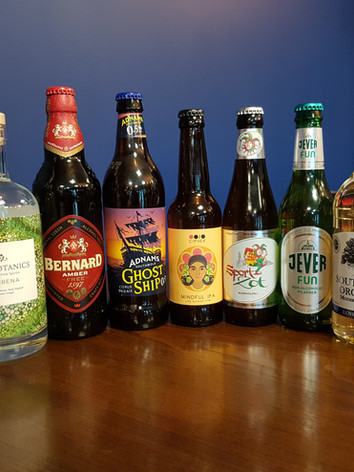 Alcohol Free and Low Alcohol Options