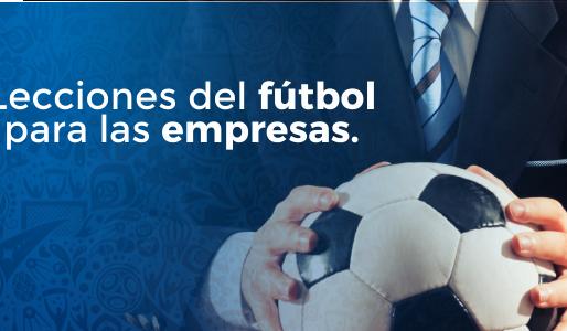 4 lecciones que las empresas pueden aprender del fútbol