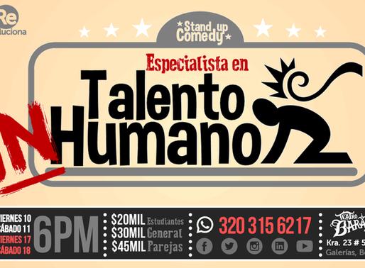 """StandUp Comedy """"Especialista en Talento InHumano"""""""
