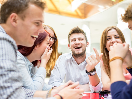 Las ventajas del buen humor en la oficina