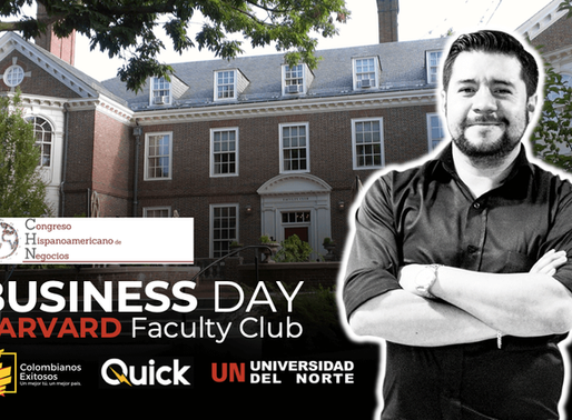 Colombianos viajan a Harvard para hablar de Felicidad Organizacional, Tecnología y Emprendimiento.