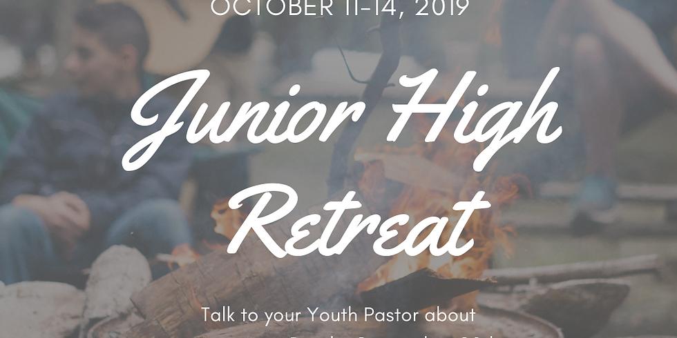Jr. High Fall Retreat!