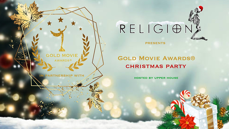 Gold Movie Awards® Christmas Party