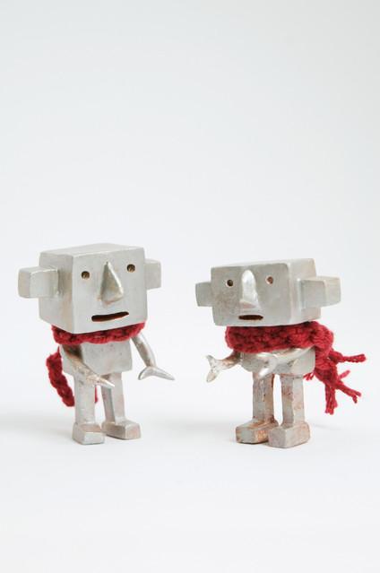 ロボットと会話する?