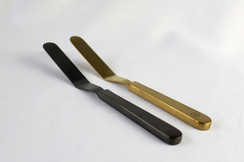 Spatula 207mm, Set of two, Series: Prelude (Gold+Black)
