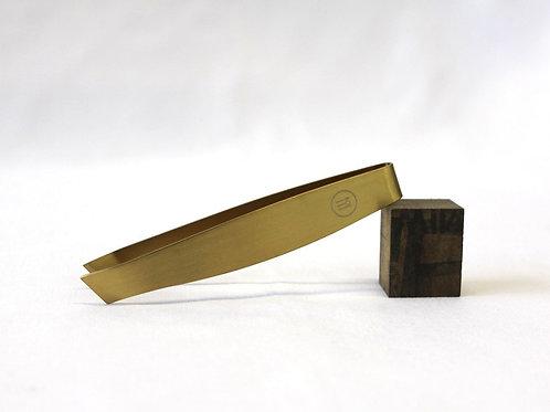 Fishbone Tweezers 120mm, Series: Classic (Gold)