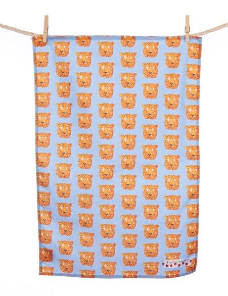 Leopard Tea Towel