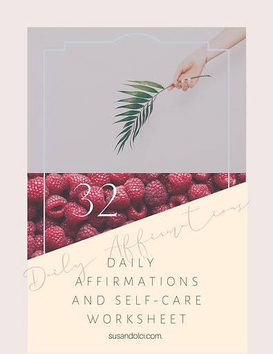 Daily Affirmations FreebieSelf-Care Work