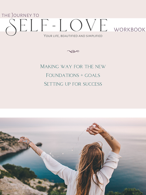 The Journey to Self-Love Workbook