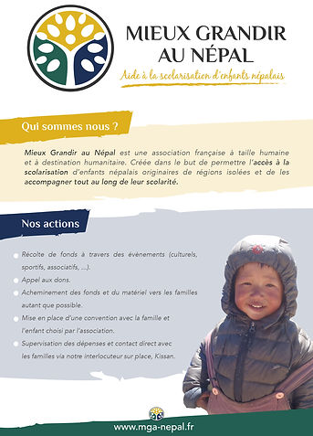 flyer secours populaire français
