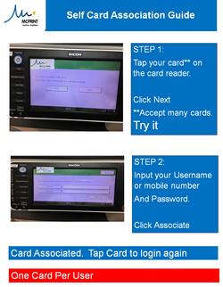 SELF-CARD ASSOCIATION GUIDE