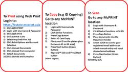 INSTRUCTION GUIDE - WEBPRINT COPY & SCAN