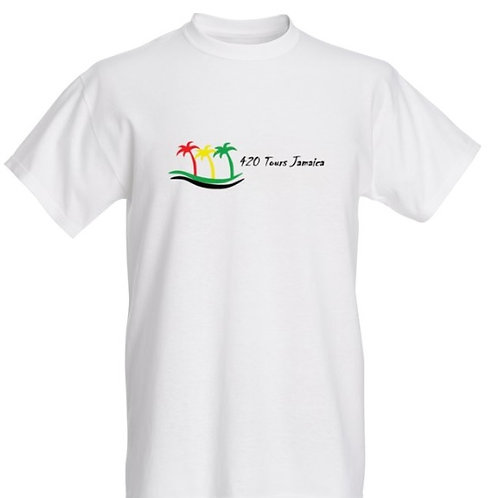 420 Tours Jamaica White T-Shirt
