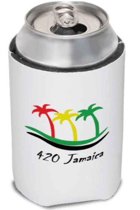 420 Jamaica stubbie or can holder