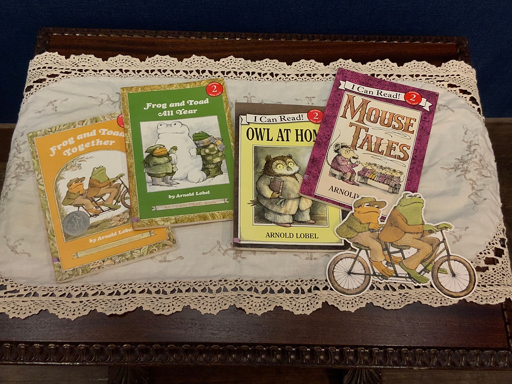 Stories will be read from Arnold Lobel
