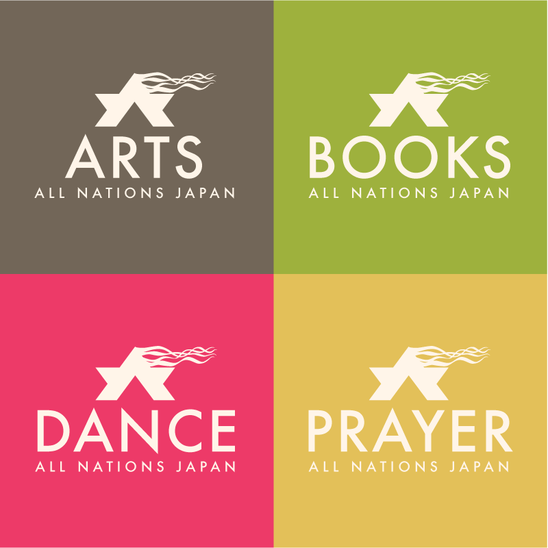 All Nations Arts Logos