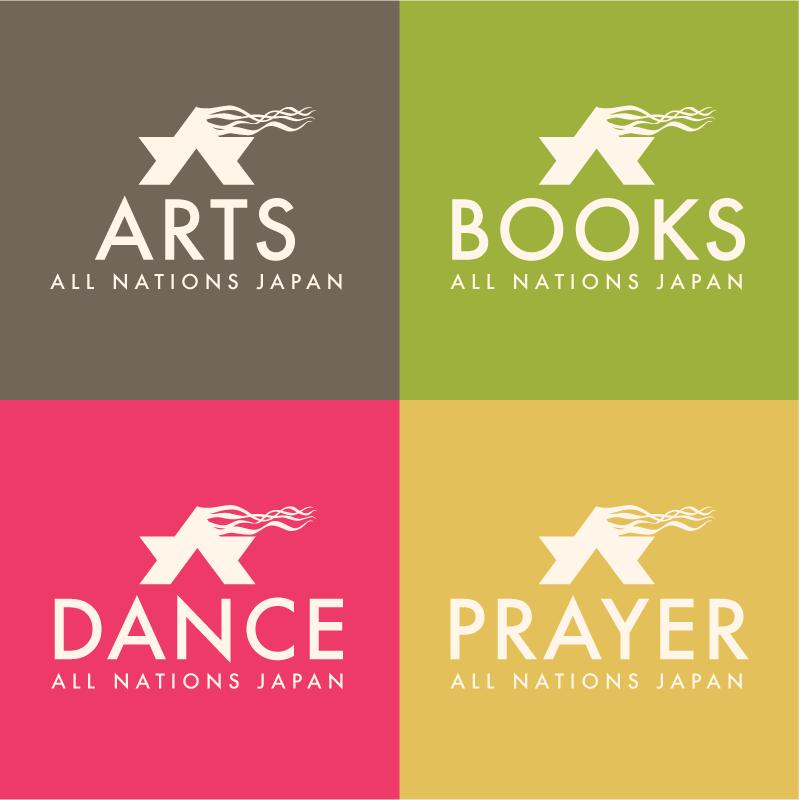 All Nations Arts Logos