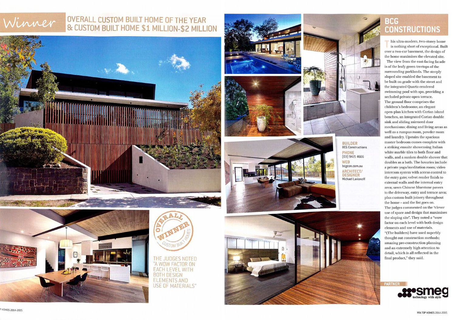 Top Homes 2014 | HIA Magazine