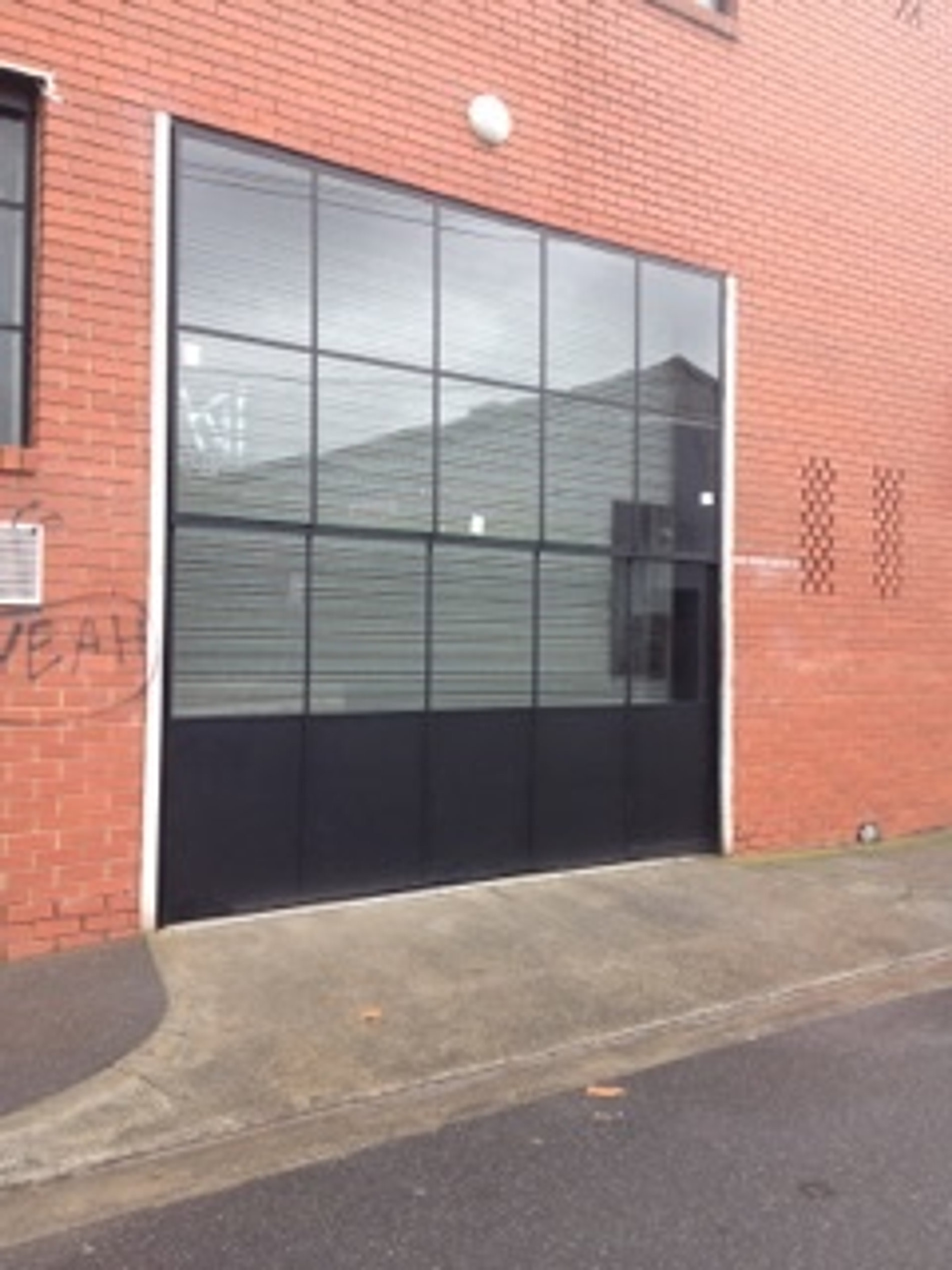 Architectural Steel Garage Doors