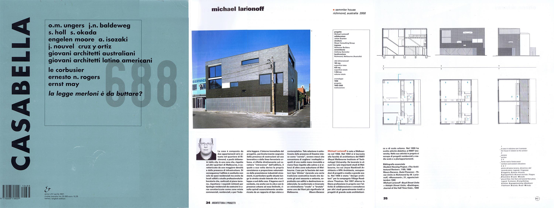Casabella 2001 | Magazine