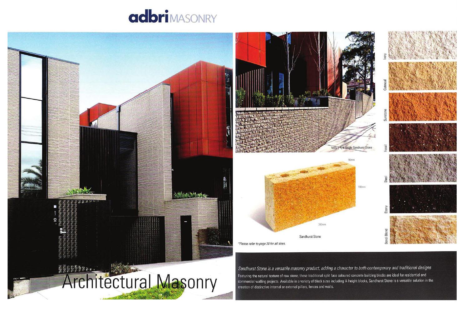 Adbri Masonry 2014 | Magazine