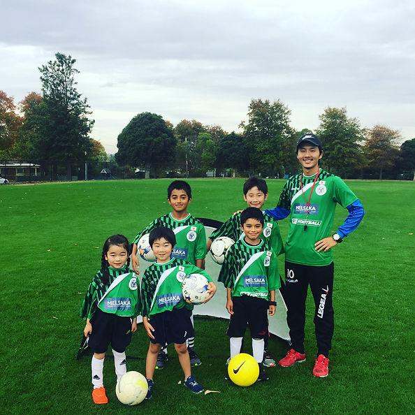 メルサカアカデミー メルボルン サッカーコーチング
