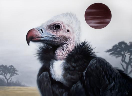 Extravagant Coat / 2021 / Oil on Canvas / 61 x 45.5 cm