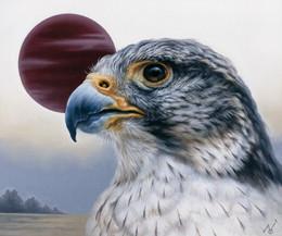 """""""Consciousness"""" 2021 / Oil on canvas /45.5 x 38 cm"""
