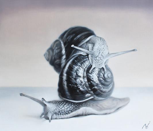 Gratitude 2 / 2020 / Oil on canvas / 60.6 x 50 x 2 cm