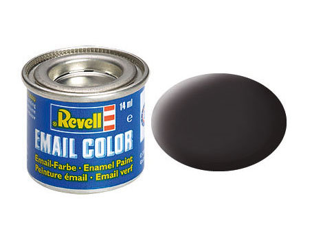 Tinta Revell Preto piche fosco - Esmalte sintético - 14ml