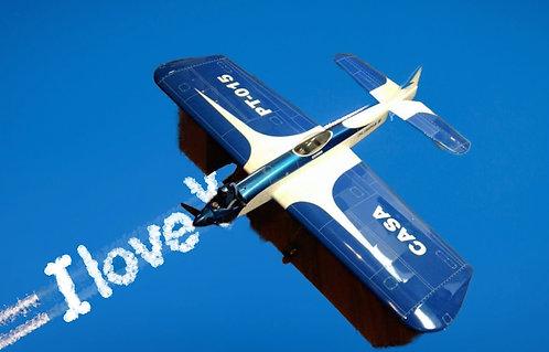 Aeromodelo Olimpia III VCC U-Control - Kit