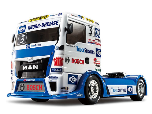 Team Hahn Racing MAN TGS truck TT-01 Type E - R/C 1/10 Elétrico Tamiya