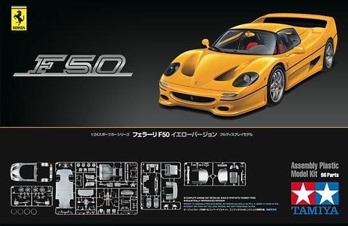Ferrari F50 Yellow Version - 1/24 Tamiya
