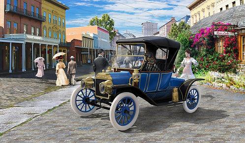 Kit para montar Ford T Modell Roadster 1913 Revell - 1/24