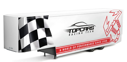 Racing Trailer - 1/24 - Kit Italeri