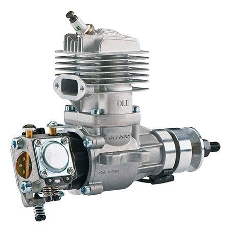Motor DLE 20RA - Gasolina - Escape traseiro