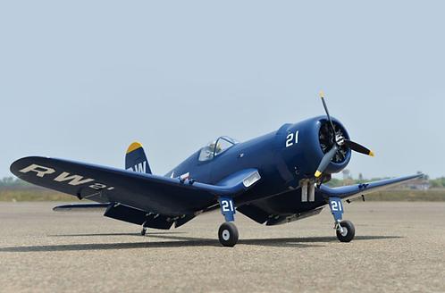 Aeromodelo F4U Corsair 60cc - Escala 1/5,5 - Gasolina - Phoenix