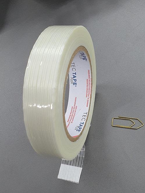 Fita de Polipropileno TecTape 351 - Filamentosa - 24mm x 50m