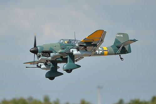 Aeromodelo Stuka Ju87 escala 1/5,75 - 60 cc gas - Phoenix