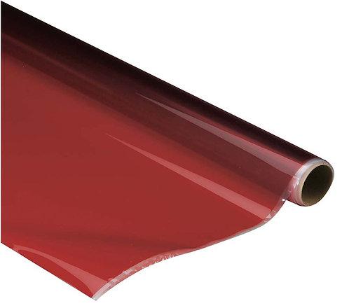 Monokote (66 x 182 cm) - Vermelho Transparente - Top Flite