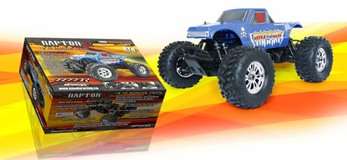 Raptor-E Monster Truck 1/8 Elétrico (RTR) - 2Speed Nanda