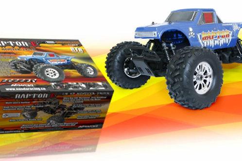 Raptor-E Monster Truck 1/8 Elétrico (RTR) - 2Speed Nanda