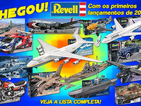 Acaba de chegar novo embarque da Revell na Aeromodelli!