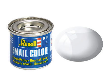 Tinta Revell branco brilhante - Esmalte sintético - 14ml