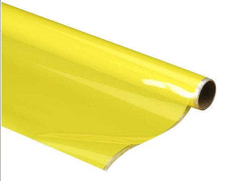 Monokote (66 x 182 cm) - Amarelo Transparente - Top Flite