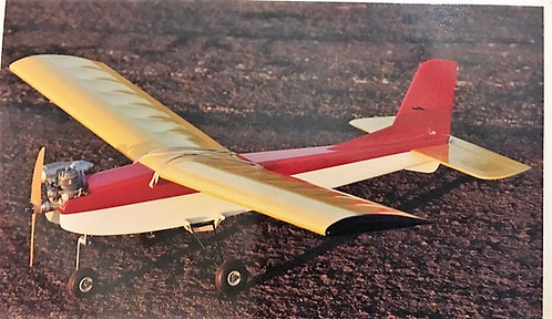 Kit Trainer Young 4 R/C - .20 a .25 / elétrico - (Aerobrás) - 1.2m Asa